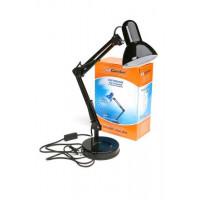 Поворотный настольный светильник Camelion KD-313 черный 220В 60Вт Е27 арт.13640