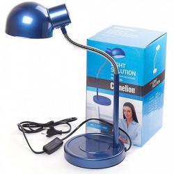 Настольный ламповый гибкий светильник 10500 Camelion Light Solution KD-306 C06 синий 220В 40Вт Е27