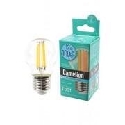 Лампа светодиодная филаментная Camelion 220В 12Вт (100Вт) Е27 4500К нейтральный белый арт.13715
