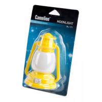 Детский светодиодный ночник в розетку с выключателем Camelion NL-171 ФОНАРИК 220В 0.5Вт арт.12527