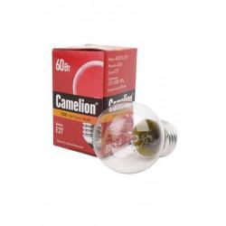 Лампа накаливания прозрачная Camelion 60/D/CL/E27 220В 60Вт Е27 1шт арт.8973