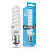 Лампа энергосберегающая люминесцентная Camelion 220В 13Вт (65Вт) Е27 4200К нейтральный белый арт.10585