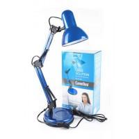 Поворотный настольный светильник Camelion KD-313 синий 220В 60Вт Е27 арт.13643