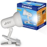 Поворотный светильник на прищепке Camelion H-035 белый 220В 60Вт Е27 арт.7198