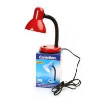 Гибкий настольный светильник Camelion KD-301 красный 220В 60Вт Е27 арт.5755