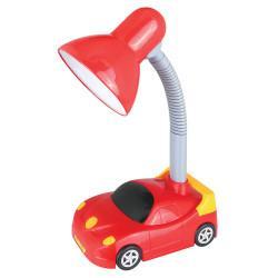 Детская гибкая настольная лампа 12610 Camelion Smart KD-383 C04 Машинка 220В 40Вт Е27