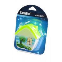 Детский светодиодный ночник в розетку с выключателем Camelion NL-173 ДОМИК 220В 0.5Вт арт.12529