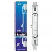 Лампа галогенная R7s Camelion двухцокольная прозрачная J78 220В 150Вт 78мм арт.2933