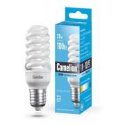 Лампа энергосберегающая люминесцентная Camelion 220В 20Вт (100Вт) Е27 4200К нейтральный белый арт.10523