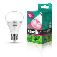 Светодиодная БИКОЛОР лампа для комнатных растений и рассады 13241 Camelion LED 220В 10Вт Е27