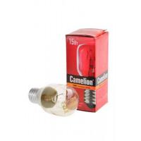 Лампа накаливания миниатюрная прозрачная Camelion 15/PT/CL/E14 220В 15Вт Е14 миньон 1шт арт.12979