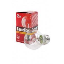 Лампа накаливания прозрачная Camelion 95/A/CL/E27 220В 95Вт Е27 1шт арт.10279