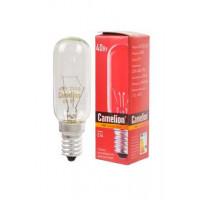 Лампа накаливания миниатюрная прозрачная 40/T25/CL/E14 220В 40Вт Е14 миньон 1шт арт.12984