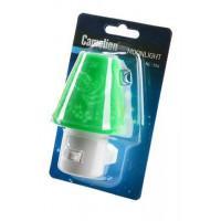 Детский светодиодный ночник в розетку с выключателем Camelion NL-194 ЗЕЛЕНЫЙ 220В 0.5Вт арт.12910