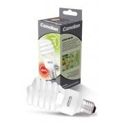 Лампа энергосберегающая люминесцентная Camelion 220В 30Вт (150Вт) Е27 4200К нейтральный белый арт.7980