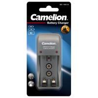 Простое зарядное устройство Camelion 8181 BC1001A для Ni-Cd Ni-Mh на 2 аккумулятра AA AAA и 1x 9V крона