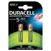 Аккумуляторы Ni-Mh Duracell Turbo AAA 900мАч 1,2В 2шт