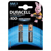 Батарейки алкалиновые Duracell Ultra Power (turbo max) AAA LR03 1,5В 2шт