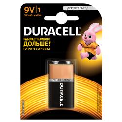 Батарейка алкалиновая Duracell Basic 6LP3146/MN1604 Крона 9V 1шт