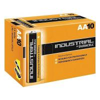 Батарейки алкалиновые Duracell Industrial AA LR6 10шт