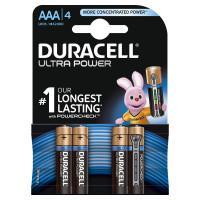 Батарейки алкалиновые Duracell Ultra Power (turbo max) AAA LR03 1,5В 4шт