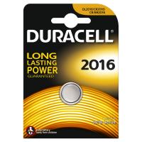 Батарейка литиевая Duracell 2016 3В дисковая 1шт