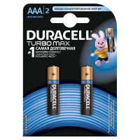 Батарейки алкалиновые Duracell Ultra Power with Powercheck (бывш Turbo Max) AAA LR03 MX2400 2шт