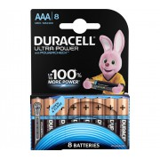 Батарейки алкалиновые Duracell Ultra Power (turbo max) AAA LR03 1,5В 8шт