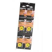 Батарейки алкалиновые Duracell SIMPLY AAA LR03 MN2400 1.5В 16шт (4 отрывных блистера по 4 шт)
