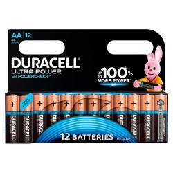 Батарейки алкалиновые Duracell Ultra Power (turbo max) AAA LR03 1,5В 12шт