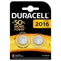 Батарейки литиевые Duracell 1005005 CR2016 3В дисковые 2шт