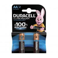 Батарейки алкалиновые Duracell Ultra Power (turbo max) AA LR6 1,5В 2шт