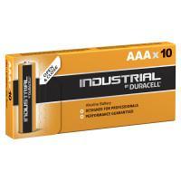 Батарейки алкалиновые Duracell Industrial AAA LR03 10шт