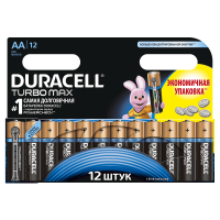 Батарейки алкалиновые Duracell Turbo Max AA LR6 MX1500 12шт