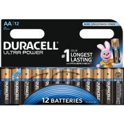 Батарейки алкалиновые Duracell Ultra Power (turbo max) AA LR6 1,5В 12шт