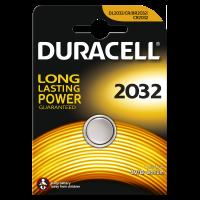 Батарейка литиевая Duracell 2032 3В дисковая 1шт