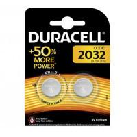 Батарейки литиевые Duracell 1004733 CR2032 3В дисковые 2шт
