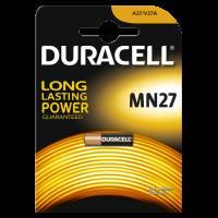 Батарейка алкалиновая 1005253 Duracell A27 MN27 (27A) 12В специальная 1шт