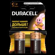 Батарейки алкалиновые алкалиновые Duracell Basic C LR14 MN1400 2шт