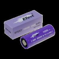 Аккумулятор для электронных сигарет Efest IMR 18500 1000мАч 15А (v1)