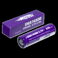 Аккумулятор для электронных сигарет Efest IMR 14500 650мАч 9,75А (v1)