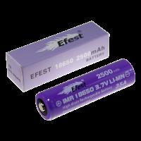 Аккумулятор для электронных сигарет Efest IMR 18650 2500мАч 35А (v2)