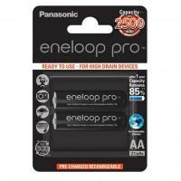 Аккумуляторы Panasonic Eneloop Pro AA 2500мАч BK-3HCDE-2BE 2шт