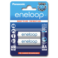 Аккумуляторы Panasonic Eneloop AA 1900мАч 2шт