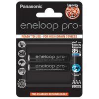 Аккумуляторы Panasonic Eneloop Pro AAA 930мАч BK-4HCDE-2BE 2шт