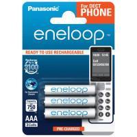Аккумуляторы Panasonic Eneloop AAA 750мАч BK-4MCCE-3DE 3шт