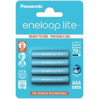 Аккумуляторы Panasonic Eneloop Lite AAA 550мАч BK-4LCCE-4BE 4шт