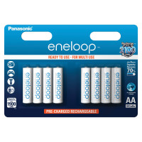 Аккумуляторы Panasonic Eneloop AA 1900мАч BK-3MCCE-8BE 8шт