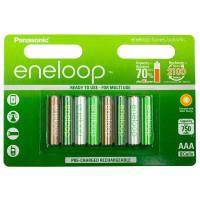 Аккумуляторы Panasonic Eneloop Botanic Colors AAA 750мАч 8шт