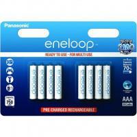 Аккумуляторы Panasonic Eneloop AAA 750мАч BK-4MCCE-8BE 8шт